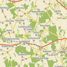 balatonboglár térkép Utcakereso.hu Balatonboglár térkép