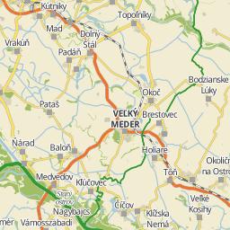 tata és környéke térkép Utcakereso.hu Tata térkép