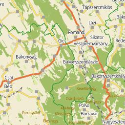 balatonalmádi térkép Utcakereso.hu Balatonalmádi térkép