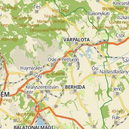 magyarország térkép balatonfüred Utcakereso.hu Balatonfüred térkép magyarország térkép balatonfüred
