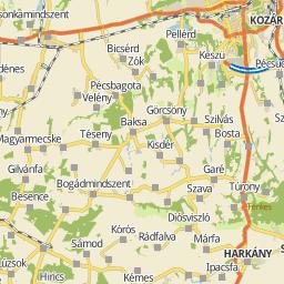 siklós térkép részletes Utcakereso.hu Siklós térkép