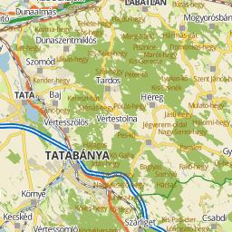 google térkép tatabánya Utcakereso.hu Tatabánya térkép