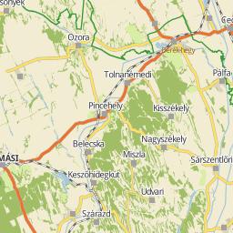 térkép szekszárd Utcakereso.hu Szekszárd térkép térkép szekszárd