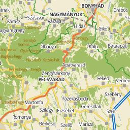 pécs belváros térkép Utcakereso.hu Pécs térkép pécs belváros térkép