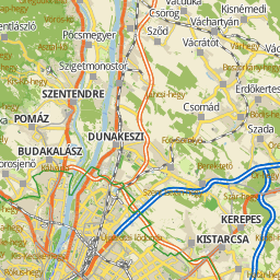 budapest vonzáskörzete térkép Utcakereso.hu Budapest térkép