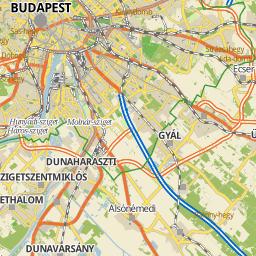 Utcakeresohu Kecskemt the map trkp