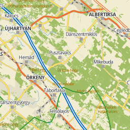 cegléd térkép Utcakereso.hu Cegléd térkép
