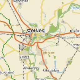 szolnok vasútállomás térkép Utcakereso.hu Szolnok térkép szolnok vasútállomás térkép