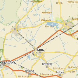 kaba térkép Utcakereso.hu Kaba, eladó és kiadó lakások,házak térkép kaba térkép