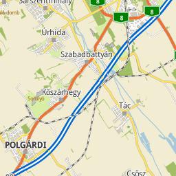 polgárdi térkép Utcakereso.hu Úrhida   Ady utca térkép polgárdi térkép