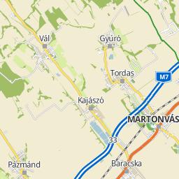tordas térkép Utcakereso.hu Ráckeresztúr   Napsugár utca térkép tordas térkép