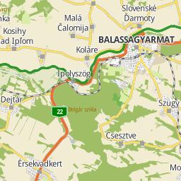 balassagyarmat térkép Utcakereso.hu Balassagyarmat   Szabó Lőrinc utca térkép