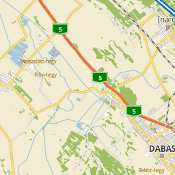dabas térkép Utcakereso.hu Dabas   Fenyves utca térkép dabas térkép