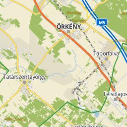 táborfalva térkép Utcakereso.hu Táborfalva   Honvéd utca térkép táborfalva térkép