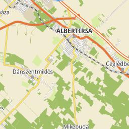 albertirsa térkép Utcakereso.hu Albertirsa   Móra Ferenc utca térkép albertirsa térkép