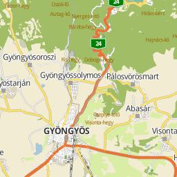 gyöngyös térkép Utcakereso.hu Heves   Álmos utca térkép gyöngyös térkép