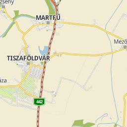 tiszaföldvár térkép Utcakereso.hu Öcsöd   Zalka Máté út térkép tiszaföldvár térkép