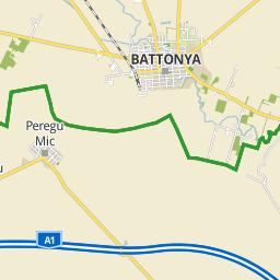 battonya térkép Utcakereso.hu Battonya   Viola utca térkép battonya térkép
