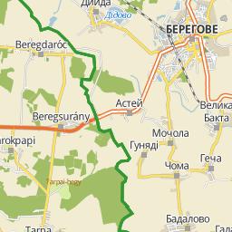 beregdaróc térkép Utcakereso.hu Beregdaróc   Béke út térkép