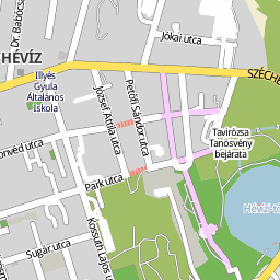 hévíz térkép Utcakereso.hu Hévíz térkép