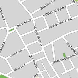 csorna térkép Utcakereso.hu Csorna térkép