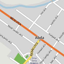 abda térkép Utcakereso.hu Abda térkép abda térkép