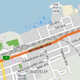 térkép fonyód Utcakereso.hu Fonyód térkép