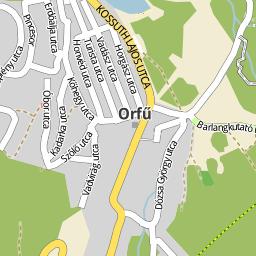 orfű térkép Utcakereso.hu Orfű térkép orfű térkép