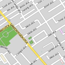 gárdony szabadstrand térkép Utcakereso.hu Gárdony térkép gárdony szabadstrand térkép