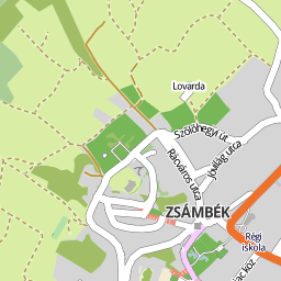 zsámbék térkép Utcakereso.hu Mány térkép zsámbék térkép
