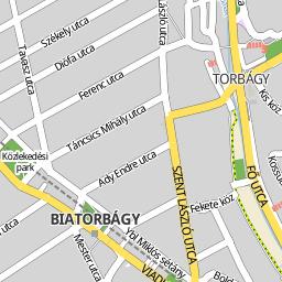 biatorbágy térkép Utcakereso.hu Biatorbágy térkép