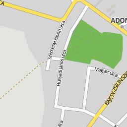 adony térkép Utcakereso.hu Adony térkép adony térkép
