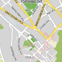 törökbálint térkép Utcakereso.hu Törökbálint térkép törökbálint térkép