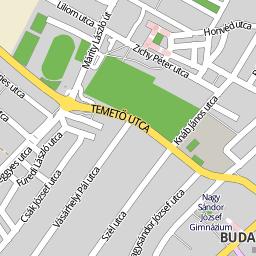 budakeszi térkép Utcakereso.hu Budakeszi térkép