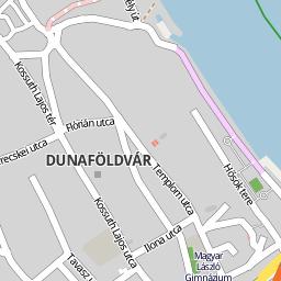 dunaföldvár térkép Utcakereso.hu Dunaföldvár térkép dunaföldvár térkép