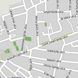 kalocsa térkép Utcakereso.hu Kalocsa térkép