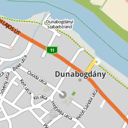 dunabogdány térkép Utcakereso.hu Dunabogdány térkép dunabogdány térkép