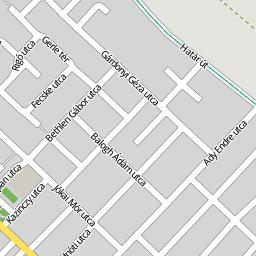 gyál térkép utcakereső Utcakereso.hu Gyál térkép
