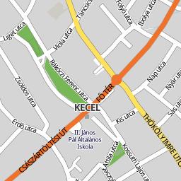 kecel térkép Utcakereso.hu Kecel térkép kecel térkép