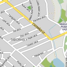 veresegyház térkép Utcakereso.hu Veresegyház térkép
