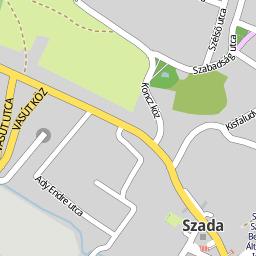 szada térkép Utcakereso.hu Szada térkép