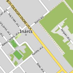 inárcs térkép Utcakereso.hu Inárcs térkép inárcs térkép