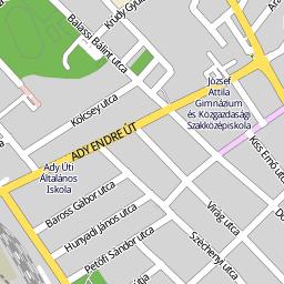 vasad térkép Utcakereso.hu Vasad térkép vasad térkép