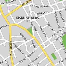kiskunhalas térkép Utcakereso.hu Kiskunhalas térkép kiskunhalas térkép