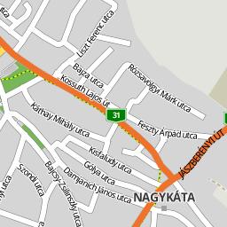 nagykáta térkép Utcakereso.hu Nagykáta térkép