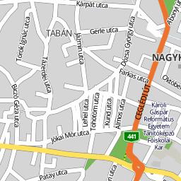 nagykőrös térkép Utcakereso.hu Nagykőrös térkép nagykőrös térkép