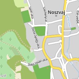 noszvaj térkép Utcakereso.hu Noszvaj térkép