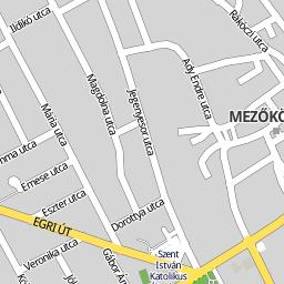 mezőkövesd térkép Utcakereso.hu Mezőkövesd térkép mezőkövesd térkép