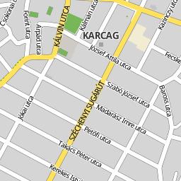 karcag térkép Utcakereso.hu Karcag térkép