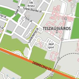 tiszaújváros térkép Utcakereso.hu Tiszaújváros térkép tiszaújváros térkép
